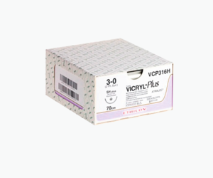 Шовный материал Ethicon VICRYL PLUS